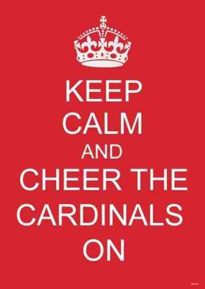 St. Louis Cardinals...the only good Cardinals to cheer for!