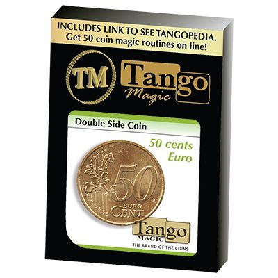 Double Sided Coin (50 cent Euro) (E0025) by Tango - Trick