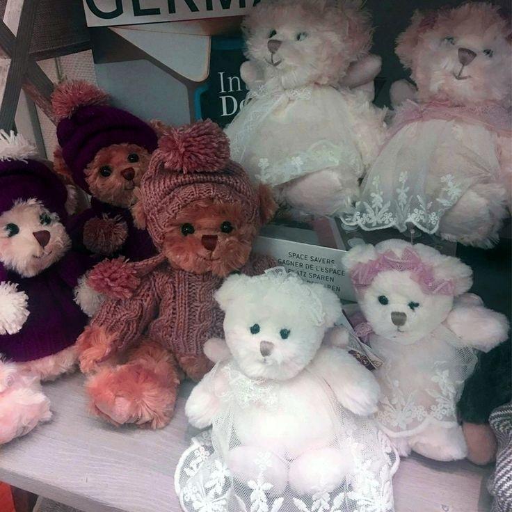 #новинки #Galleria_Arben: уютные меховые #медвежата - отличный подарок и симпатичный декор :) Из наличия в московской галерее #подарки #gift