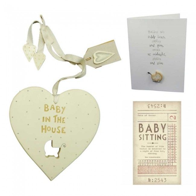 east of india baby in the house gift set from hellodaisycouk makes - Unique House Gifts