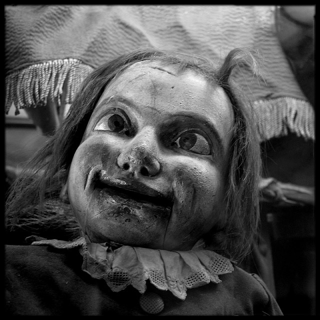 122 Best Images About Old Scary Dolls On Pinterest