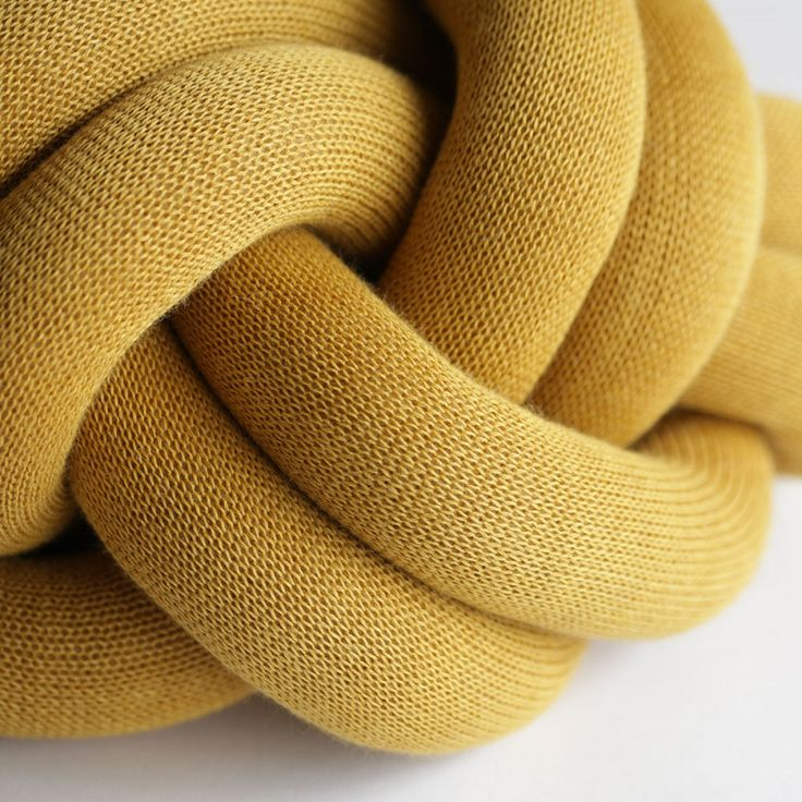 the turk's head notknot cushion by umemi is unique design and contemporary design