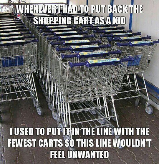 Shopping Cart Feelings
