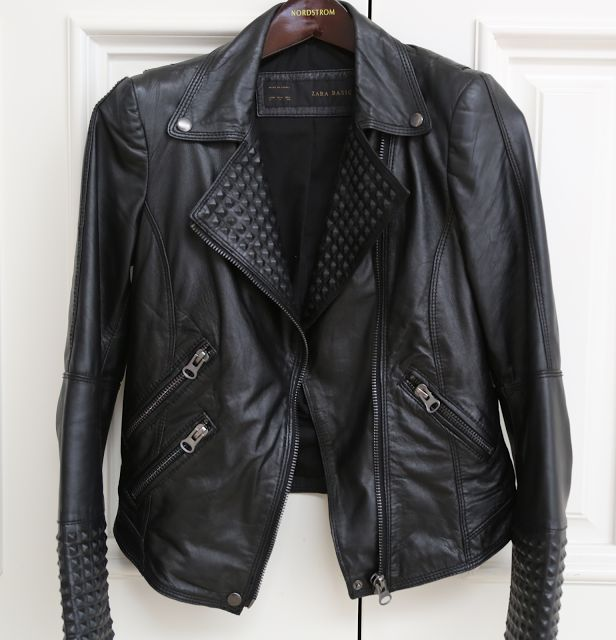 Zara, biker, jacket, with, zips, zippers, zip, stud, studs, spike, spikes, leather, authentic, real, soft, black, affordable, beautiful, genuine, genuine leather, affordable leather jacket, jacket, coat, motor, cycle, moto, motorcycle, bad, ass, badass, stylish, fashion, accessory, accessories, chic, garment, basic, basics, piece, warm, functional, style, trend, trendy, classic, good, unparalleled, value, unbeatable, beat, price, bcbg, macys, bar, iii, 3, three, faux-leather, leather, ...