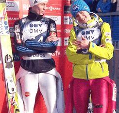 Peter Prevc & Kamil Stoch