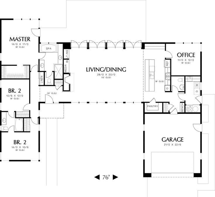 Garage Designs And Layouts: 129 Best House Plans-small, Energy Efficient, Affordable