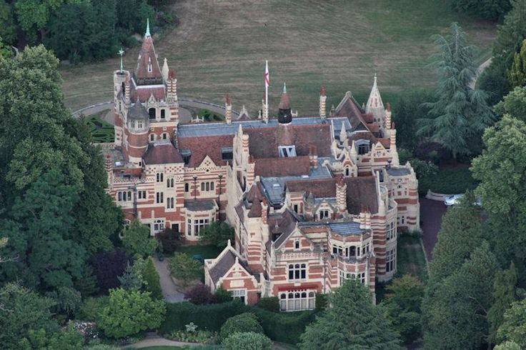 George Harrison's Oxfordshire England 1990's Mansion
