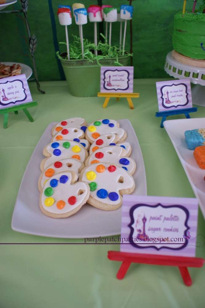 Rapunzel Disney's Tangled Inspired Birthday Party Ideas | Photo 10 of 27 | Catch My Party