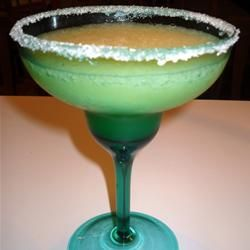 Not my picture, but Italian Margaritas are awesome.  I like this recipe the best:  Dip the rims of 4 margarita glasses in amaretto, then into sugar; set aside. Pour 6 oz. limeaid, 6 oz. tequila, 4 oz. amaretto, 1/2 cup orange juice, and 6 cups ice into a blender. Puree until smooth, then pour into prepared glasses.  I like to garnish with a lime slice.  It's also great unblended - just over ice.