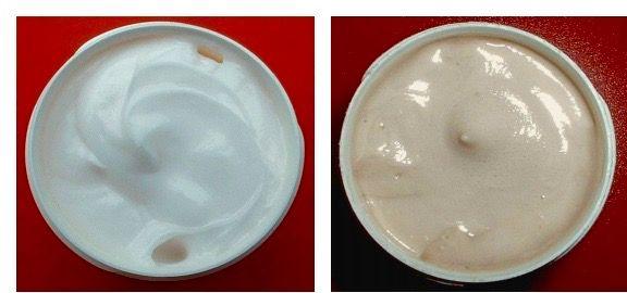 Emulsiones de hidroquinona, oxidación crema hidroquinona, crema hidroquinona marrón, hidroquinona y oxidación, crema despigmentante oxidada