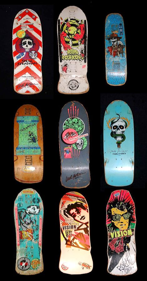 I had the Vision Psycho Stick and Agresor II in the late 80's – via www.them-thangs.com