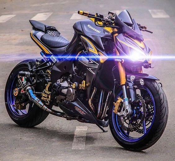 Mean AF!   Kawasaki Z1000 @KawasakiUSA #BWL #BikesWithoutLimits #Kawasaki #Z1000