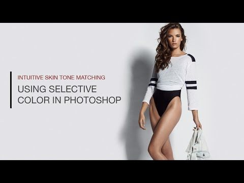▶ How to Accurately Match Skin Tones Using Selective Color in Photoshop - YouTube