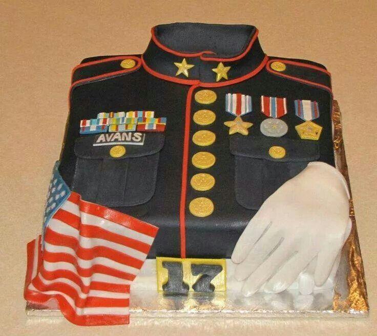 Usmc Cake Ideas