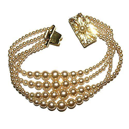 The Castle Gems Women's Multi-Size Pearls Bracelet (4 Row... https://www.amazon.com/dp/B01M08SN5M/ref=cm_sw_r_pi_dp_x_WzW5xb905EKXK