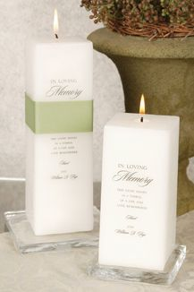 Memory Candles For A Wedding Memorial Jean M Blog