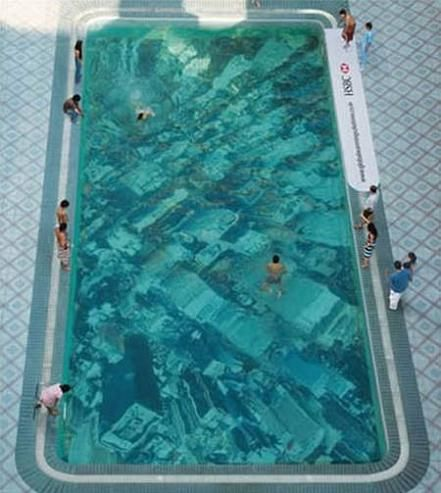 clear bottom swimming poolMumbai, Swimming Pools, New York Cities, Ogilvy Mather, Amazing Pools, Global Warm, Places, Climate Change, Warm Swimming
