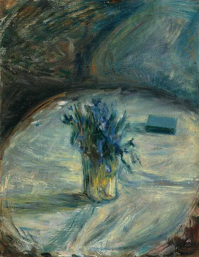 Leonid Zusman / Леонид Зусман (1906-1984), Букетик фиалок и спичечный коробок, Конец 1920-х, Холст, масло, 42х33 см
