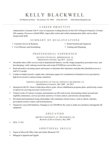 20 best Monday Resume images on Pinterest Sample resume, Resume - qualifications summary examples