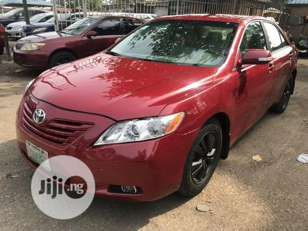 Toyota Camry 2008 Red The Car Is Super Clean And Sharp Perfect Engine And Gear Very Chilling Ac Creamy Leather Seat Reverse Camer In 2020 Toyota Camry Camry Toyota