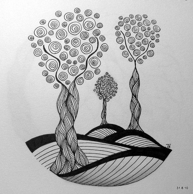 картинки гелевой ручкой деревья возникновения британских золотых