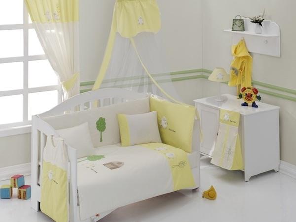 Fluffy Sheep-Baby Bedding Set