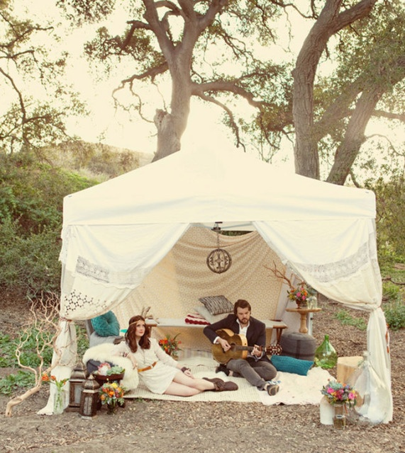 Breathtaking Bohemian Outdoor Wedding Altar: 91 Best Images About Wedding Hipster On Pinterest