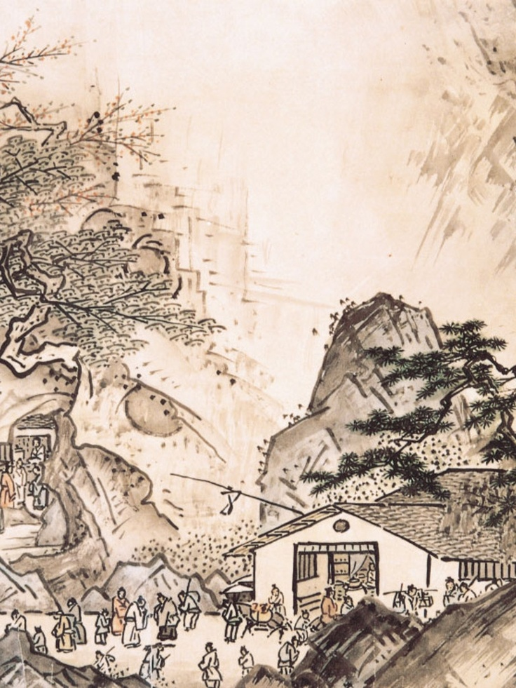 Sesshu - Landscape of the Four Seasons