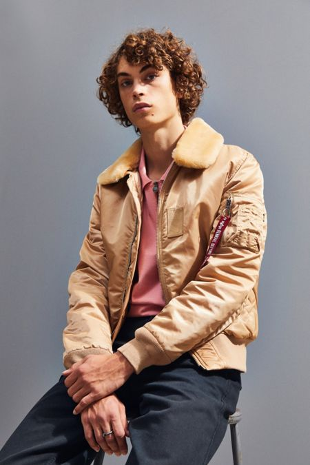 54c9b87d75a Alpha Industries X UO B-15 Slim-Fit Bomber Jacket