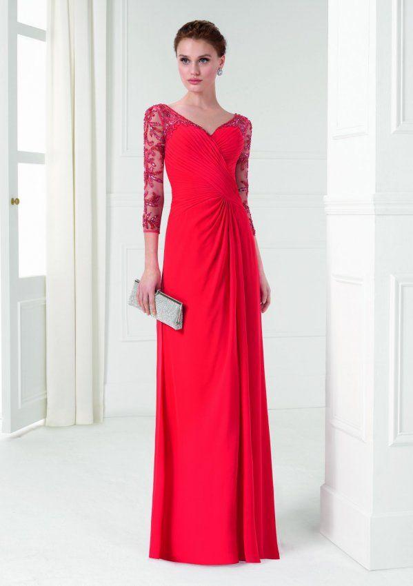 9u268 | vestido de madrina y fiesta aire barcelona en madrid | boda