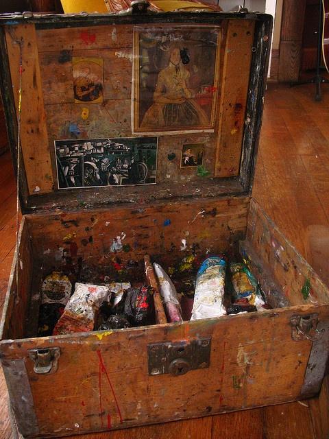 Rick's Paint Box, by Rick&Brenda Beerhorst - http://www.flickr.com/photos/studiobeerhorst/