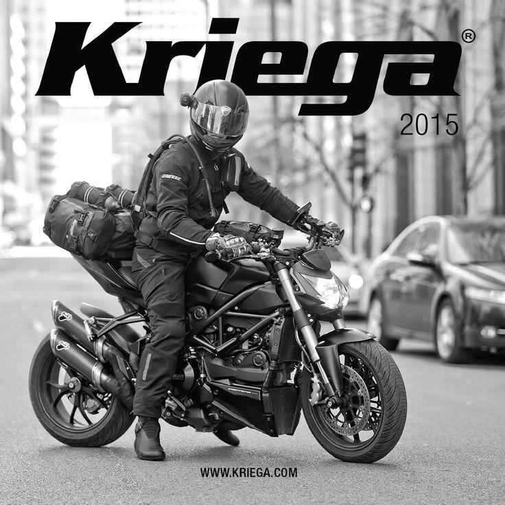 Motorcycle rider packs, bike packs, works series & accessories  www.kriega.com