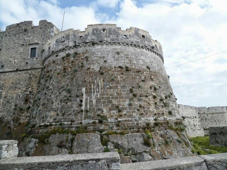 Monte Sant'Angelo Castle is a castle in the Apulian city of Monte Sant'Angelo, built around 837 by Orso I currently used for exhibitions in Monte Sant'Angelo, Gargano, Italy