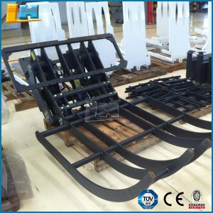 Forklift Truck Attachment Hydraulic Hinged Broke Material Handler #Forklift #Truck #Attachment #Hydraulic #Hinged #BrokeMaterialHandler #ForkliftParts #ForkliftAttachments #SteelRotator #Paper #RollClamp #ForkClamps #Forklift #Factory #container #transport #cargo #port #dock #ship #supplies  #IndustrialArea