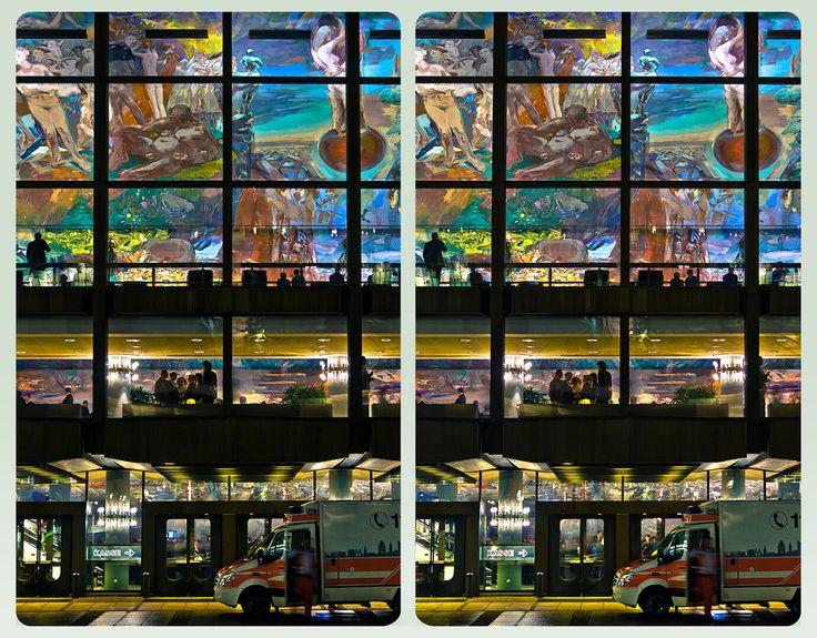 Gewandhaus Leipzig 3D :: HDR Cross Eye Stereoscopy by zour on DeviantArt