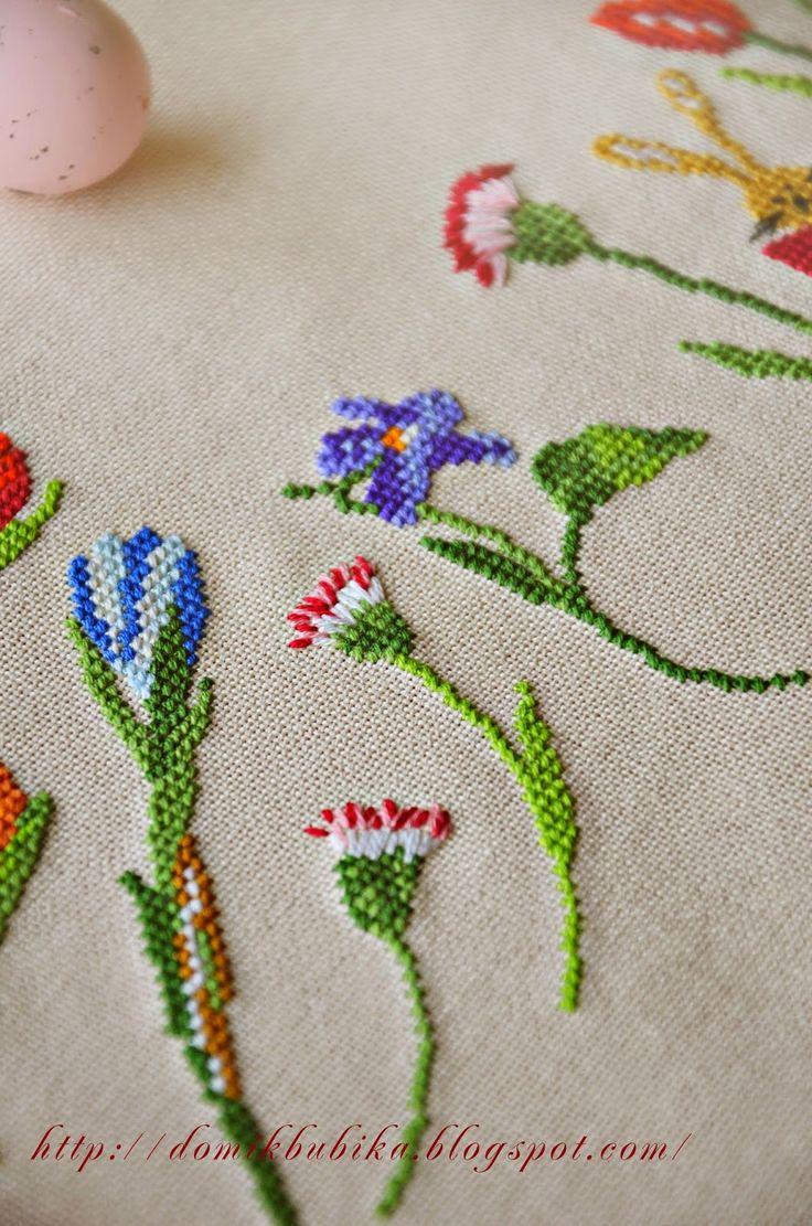 Домик Бубика: Пасхальная скатерть/Easter tablecloth