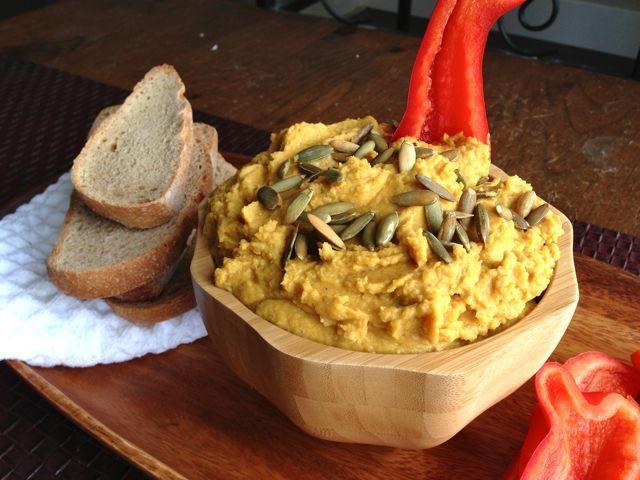 Pumpkin Hummus | Appetizers & Starters | Pinterest