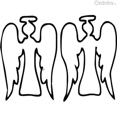 Usługi grawerowane - aniołki