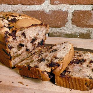 Chunky Monkey Ice Cream Bread or 2 cups any flavor icecream, 1 1/2 cups self rising flour