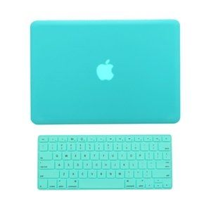 "TopCase® 2 in 1 Rubberized TIFFANY BLUE Hard Case Cover and TIFFANY BLUE Keyboard Cover for Macbook Pro 13-inch 13"" (A1278/with or without Thunderbolt) with TopCase® Mouse Pad"