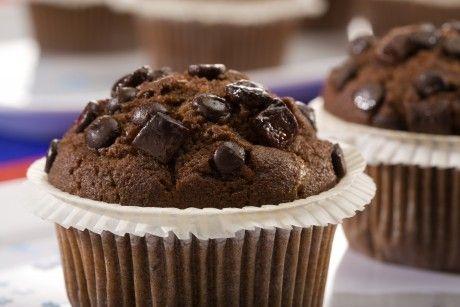 Extra csokis muffin recept - Okoskonyha.hu