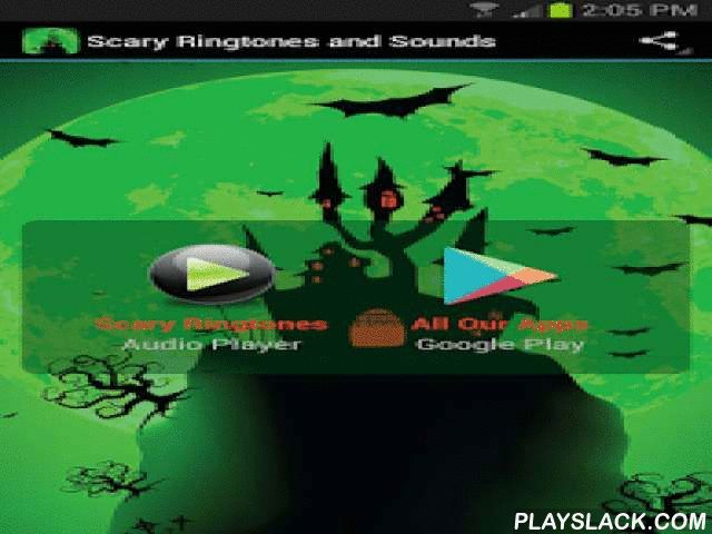 Scary Ringtones And Sounds  Android App - playslack.com ,  Do you want to feel a big adrenalin rush (without risking your health)? Then you definitely need to try this awesome and free mobile app.Scary Ringtones and Sounds app includes a wide variety of best horror sounds and ringtones (vampires, ghosts, angry dogs and cats, monsters, themes…). You can use them just for fun, to scare your friends, to enhance scary storytelling and it's also the perfect app for personalizing your mobile on…