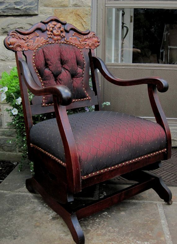 5 Piece Settee Living Room Furniture Set Carved Mahogany