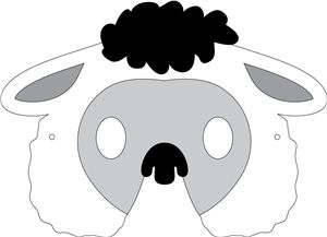 Sheep Mask Template 24 Best Projects To Try Images Day Care Kindergarten