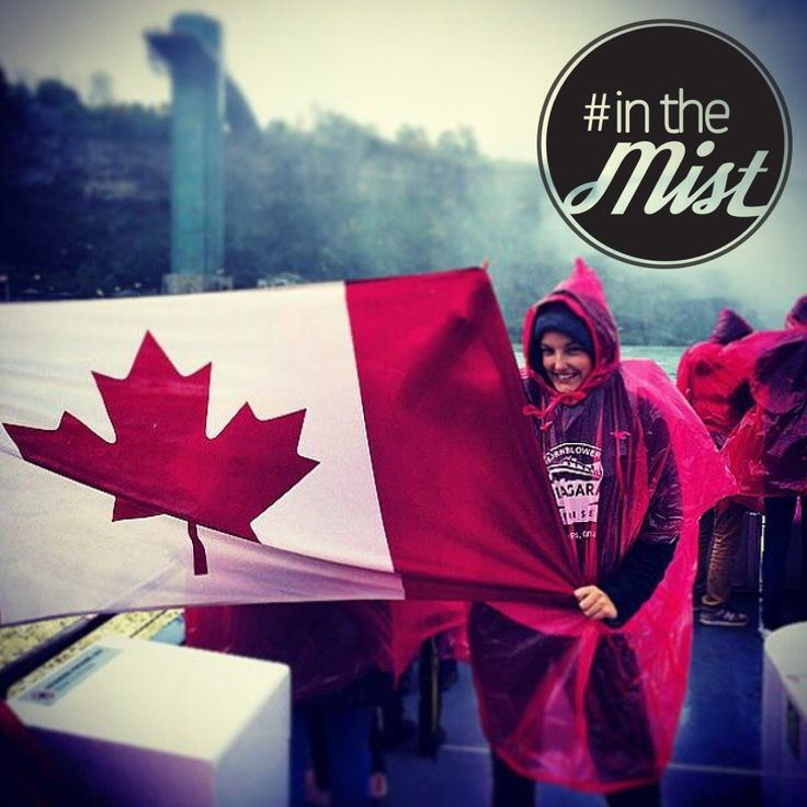 Show your Canadian pride and get #inthemist with us! #niagaracruises