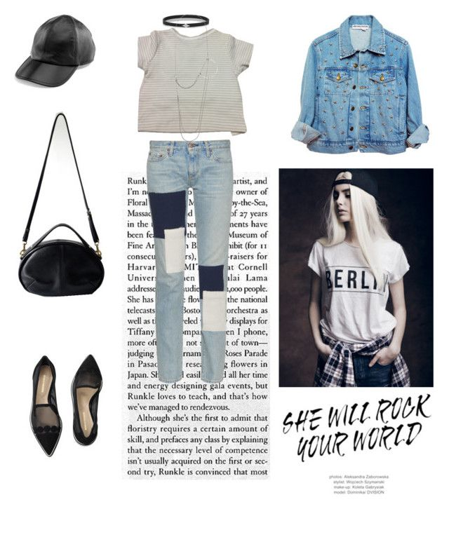 """""""She will rock your world"""" by opelle-creative on Polyvore featuring Nicholas Kirkwood, Simon Miller, Burberry, Wendy Nichol, Yestadt Millinery, Ann Demeulemeester and opellebags"""