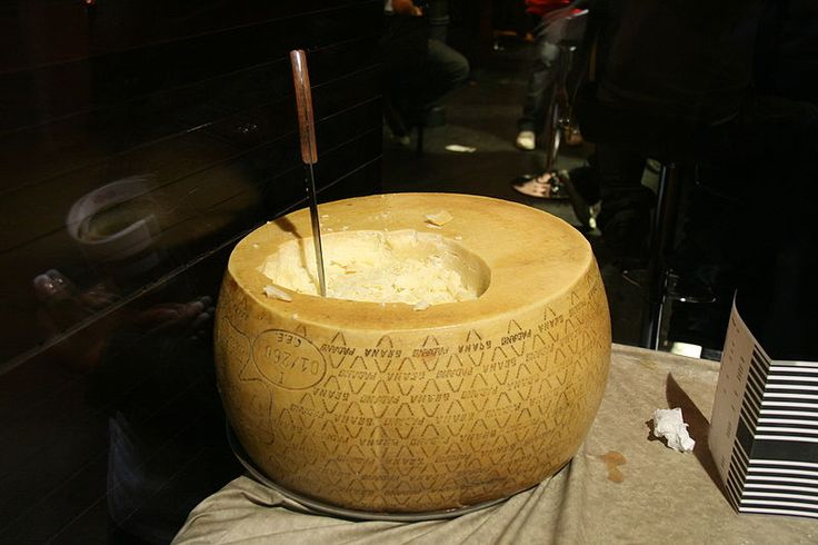 Grana Padano, granted DOP on 12 June 1996, is one of the few cheeses that can possibly compete with the King of Cheeses; Parmigiano-Reggiano. Created by the Cistercian monks of Chiaravalle in the 12th century, it is still made throughout the Po River Valley in northeastern Italy.
