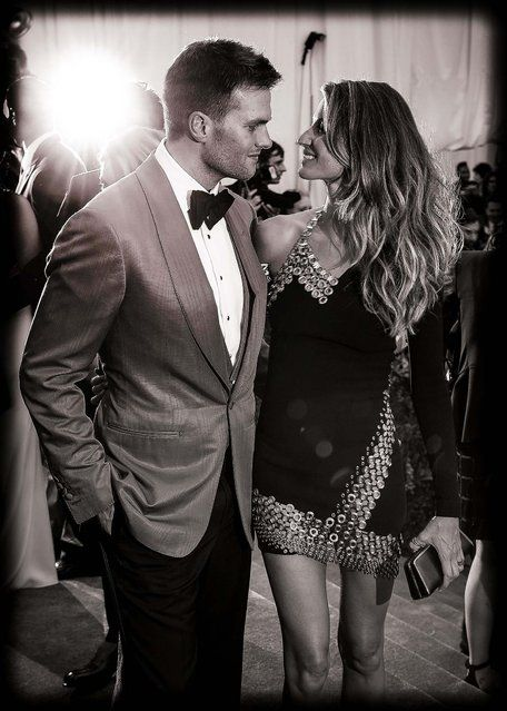 Tom Brady and Gisele Bundchen Photos: 'PUNK: Chaos to Couture' Costume Institute…