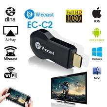 Original wecast DLNA airplay dongle  Wireless Display Receiver wecast  HDMI 1.3 HD output Free Wifi Receiver freewifi Projector