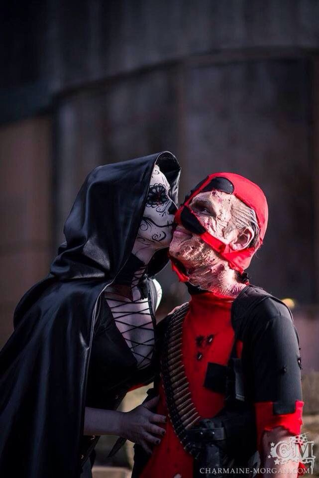 Deadpool And Lady Death 14 best images about d...